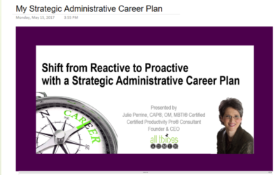 Create Your Admin Career Plan With This New Tool!