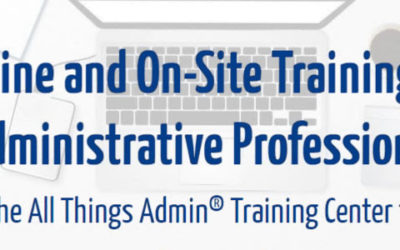 GRAND OPENING! All Things Admin Online Training Center
