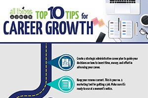 Top 10 Tips for Career Growth [Infographic]