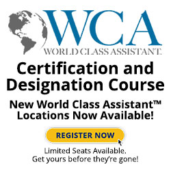 World Class Assistants Classes