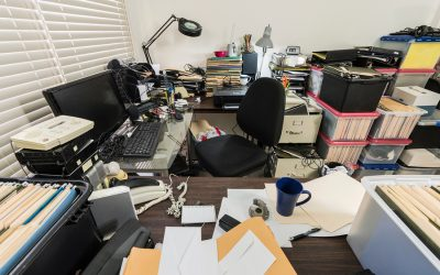 5 Types of Office Clutter That Kill Your Productivity