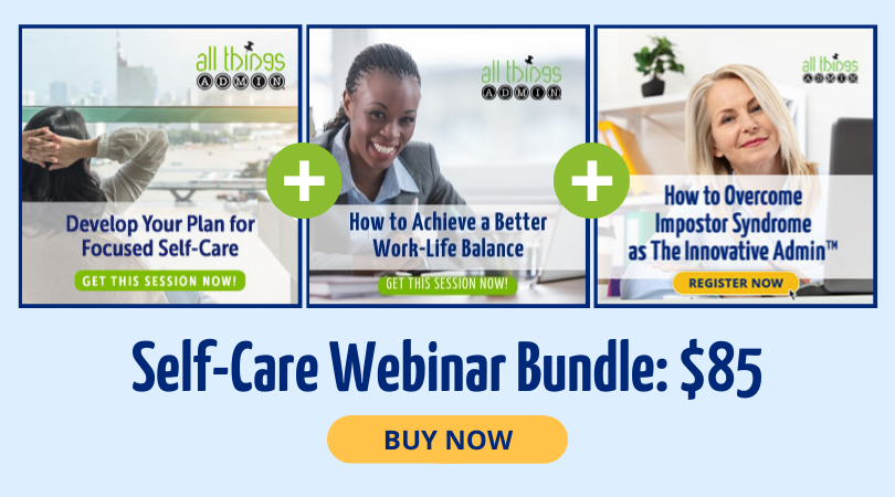 Save 40% on the Self-Care Webinar Bundle!