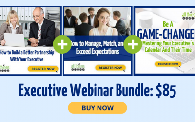 Save 40% on the Executive Webinar Bundle!