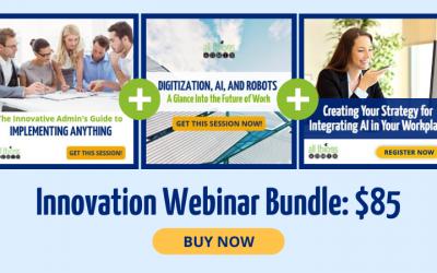 Save 40% on the Innovation Webinar Bundle!