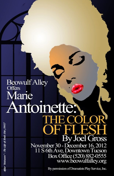 Marie Antoinette: The Color of Flesh at Beowulf Alley