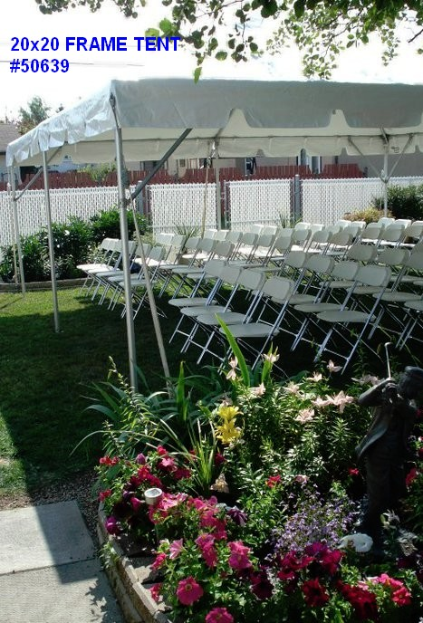 20by20ft frame tent rental 50639