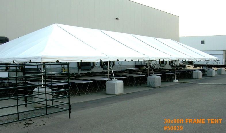 byft frame tent rental