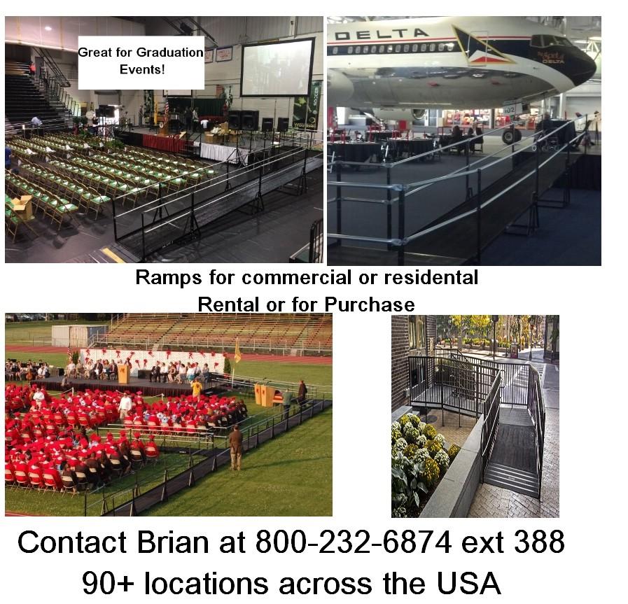 ada ramp rentals purchase nationwide