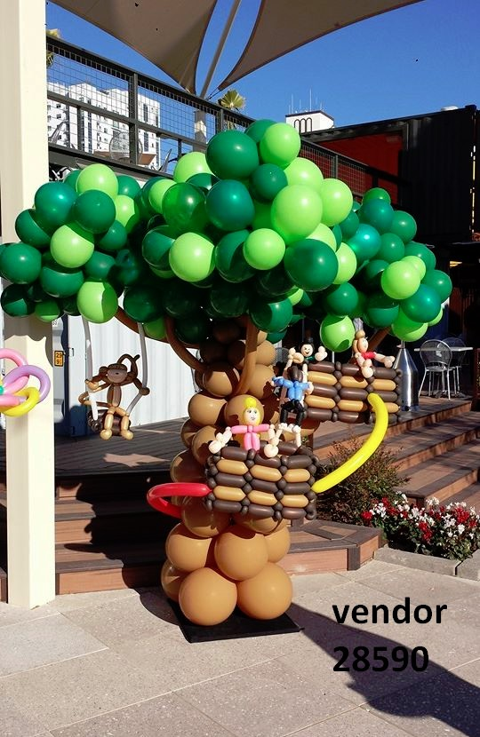 balloon artist tree entertainer 28590