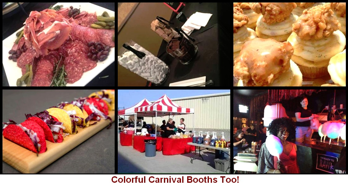 carnival theme catering items carnival catering booths