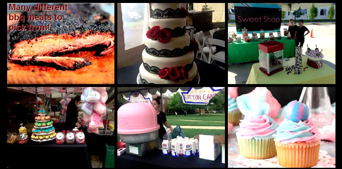 carnival theme catering items carnival catering more sweets bbq