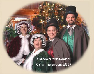 carolers caroling entertainment 887