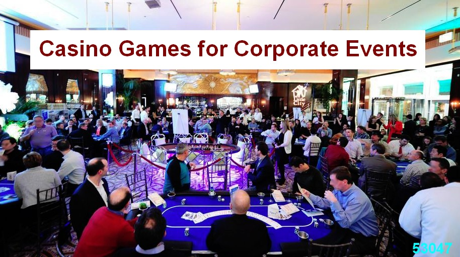 casino games dealers corporate events