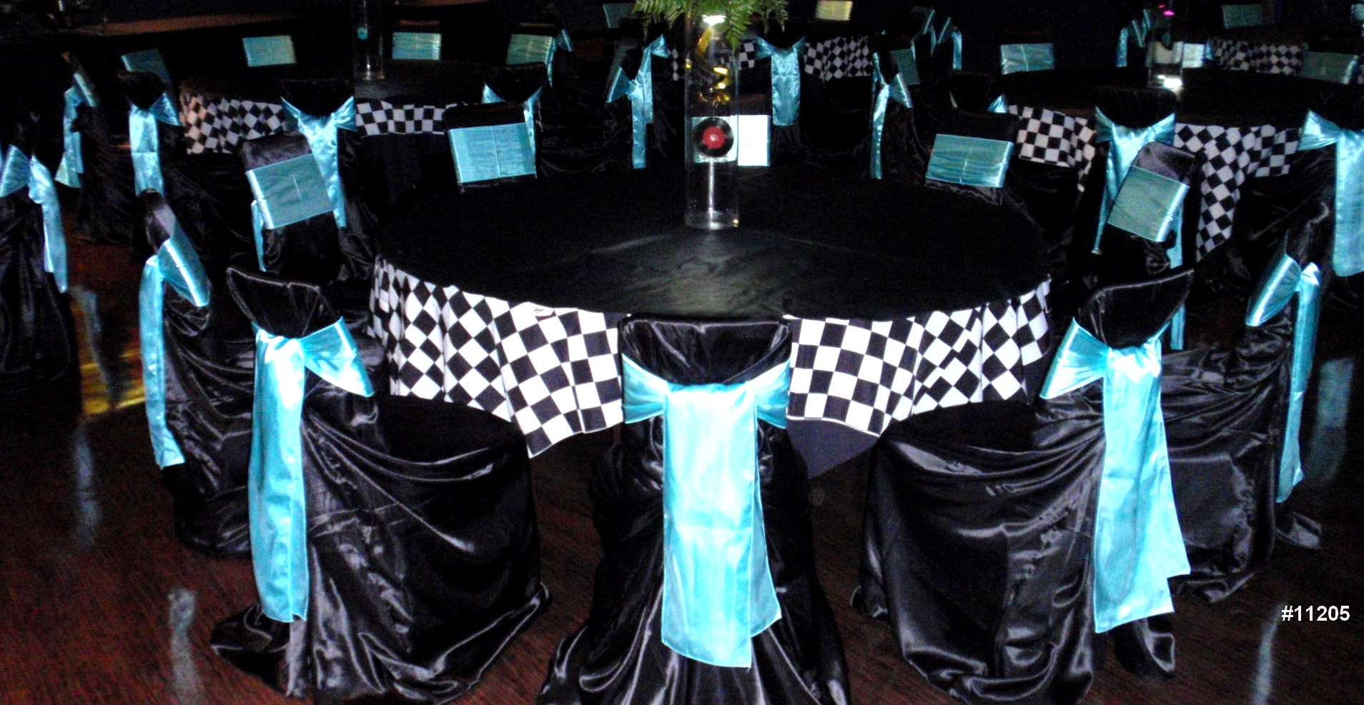 chair cover rentals black theme color 11205
