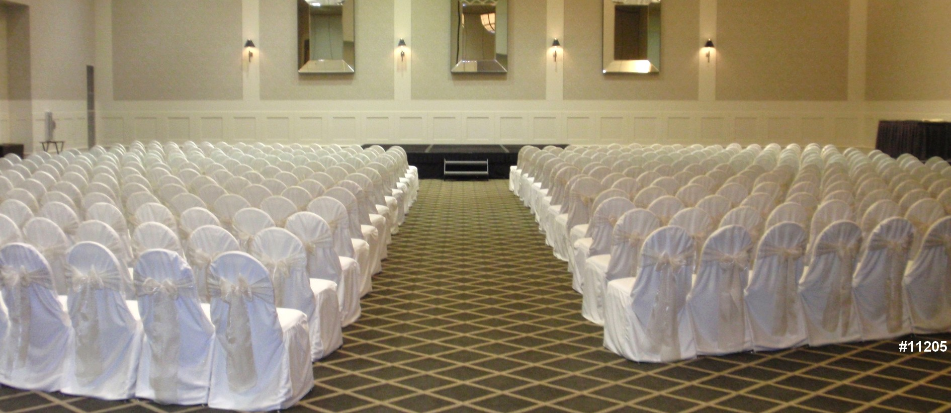 chair cover rentals wedding white theme color 11205