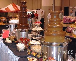 chocolate fountain rental large fountain 11365
