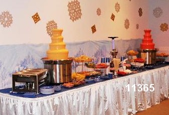 chocolate fountain rental parties two fountains