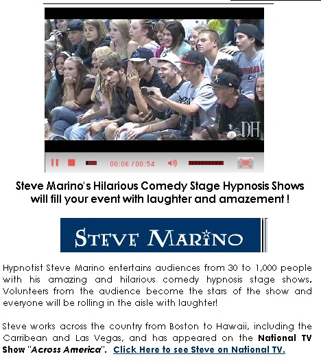 comedy stage hypnotist steve marino nationwide 1243