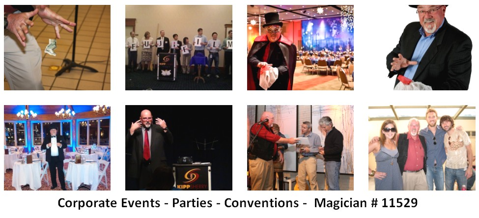 corporate entertainer magician