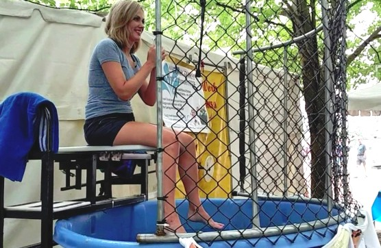 dunk tank fun for events rental