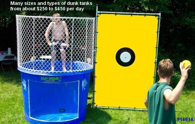 dunk tank rental