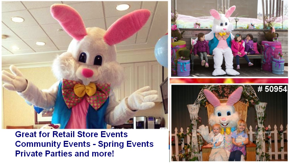 easter bunny for hire events parties 50954