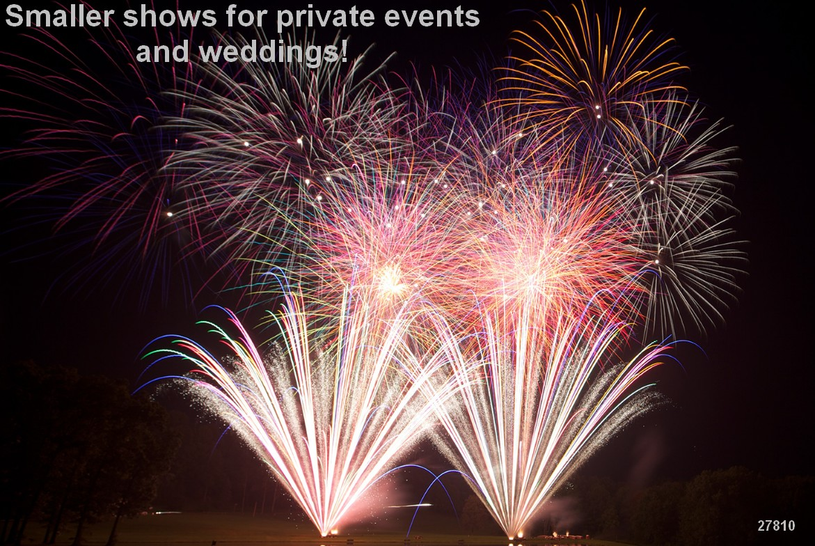 fireworks wedding displays pyro weddings
