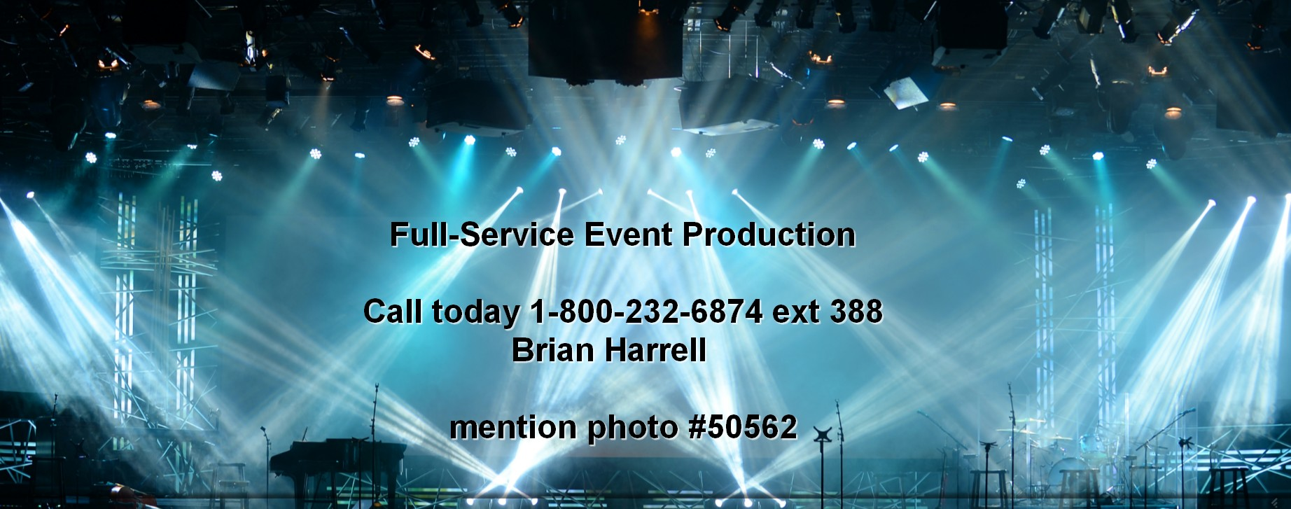 full service event production concert production services nationwide 50562