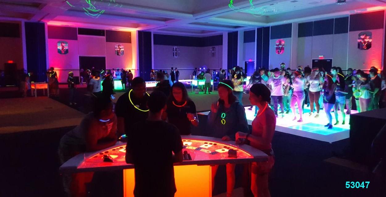 glow games casino games glow in the dark rentals kids  53047
