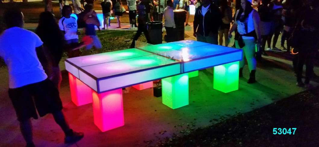 glow games ping pong game glow in the dark rentals 53047