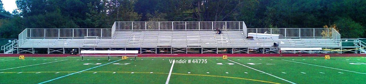 grandstand and stadium installation raised seating 44775