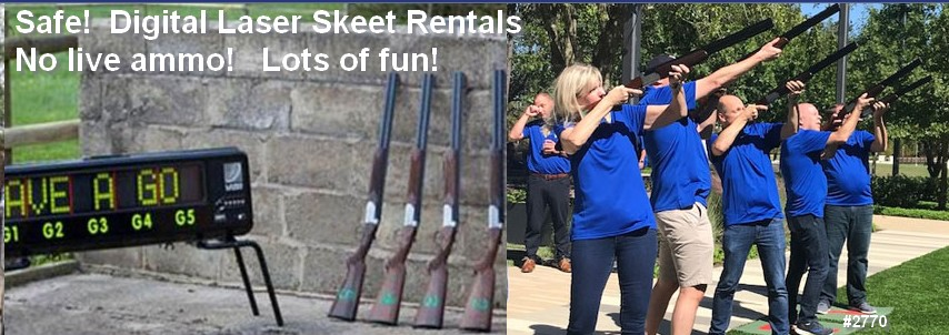 laser skeet rental nationwide