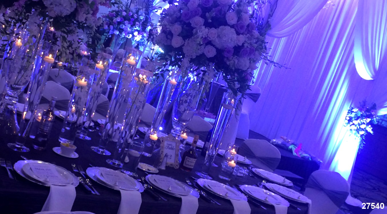 linens tablecloth rentals  purple