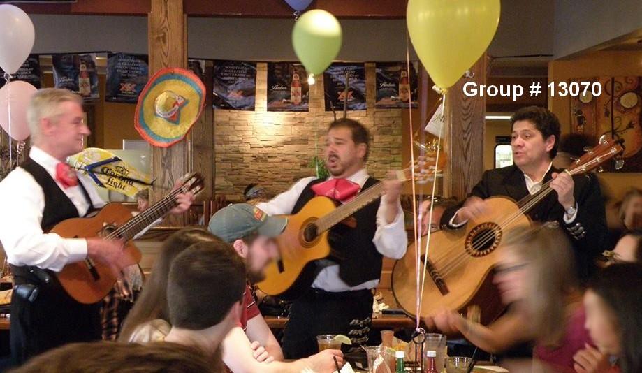 mariachi live musicians trio restaurant guests 13070