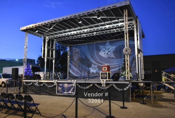 mobile stage rental large events 32081