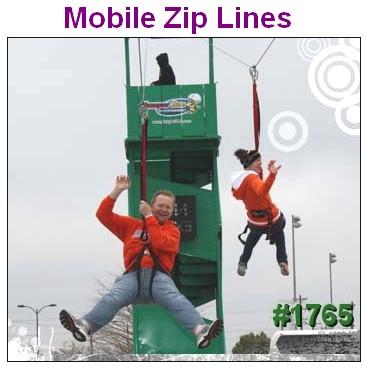mobile zip line rentals