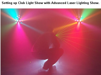 new york city wedding dj laser show setup 12256