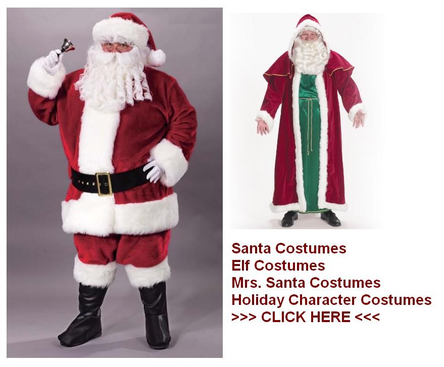 santa costumes holiday costumes
