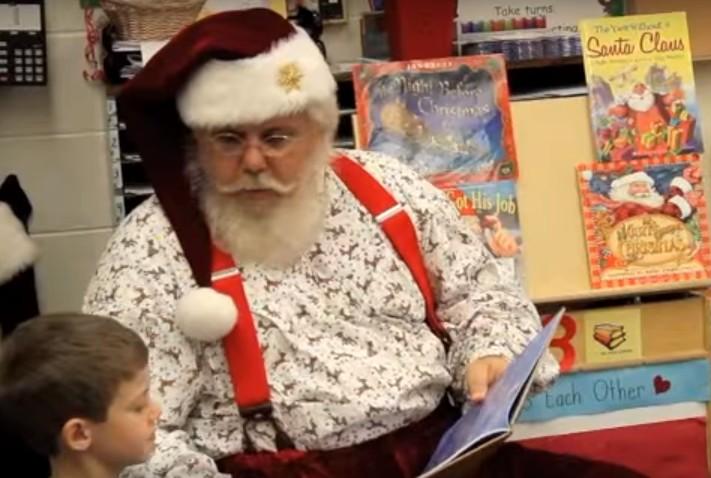 santa visit at schools 26044