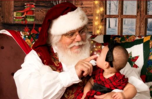 santa visit with kids 26044