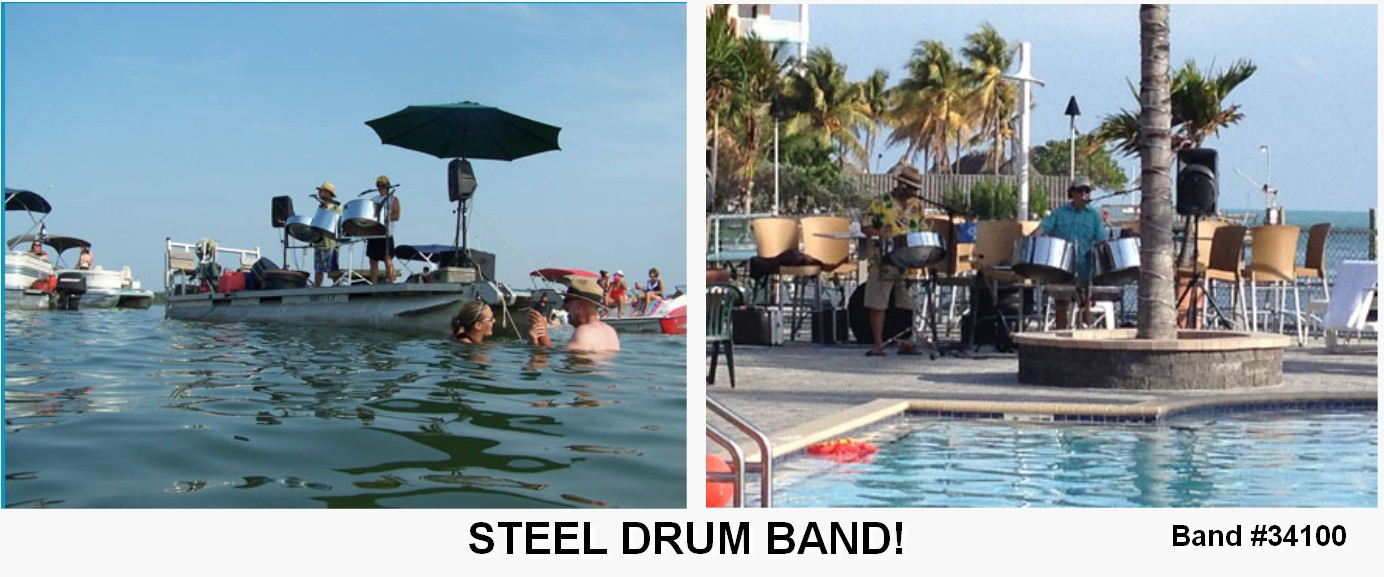 steel drum tropical entertainment live band