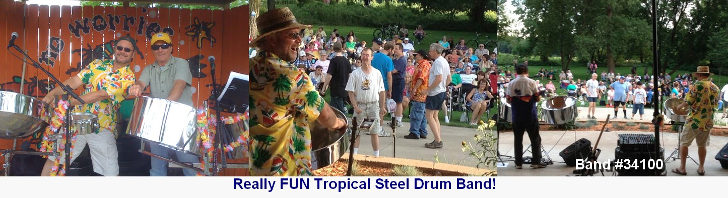 steel drum tropical entertainment live band live crowd