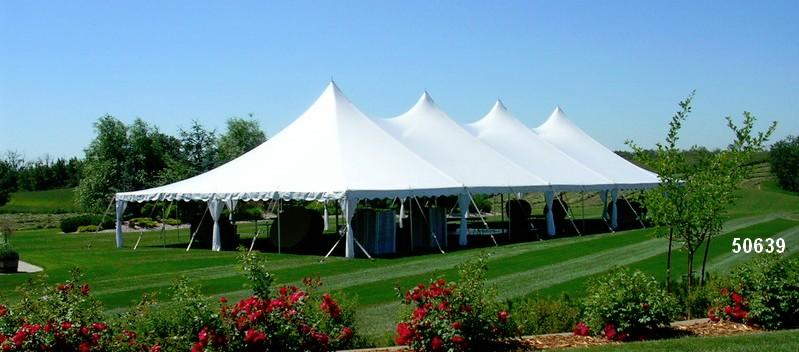tent rental large pole