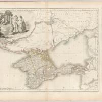 Vil'brekht's map of Tavrida Province