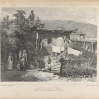 Tartar [sic] Peasants' Homes in the Village of Déré-Koui