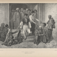 Tatars Leaving the Mosque