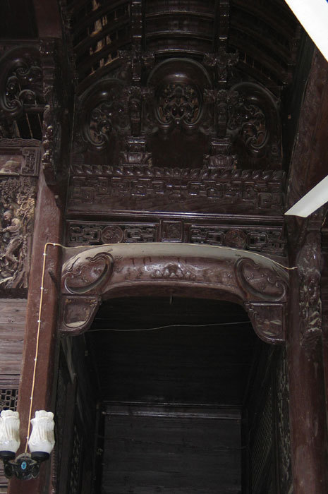 beam in second room on 1st floor
