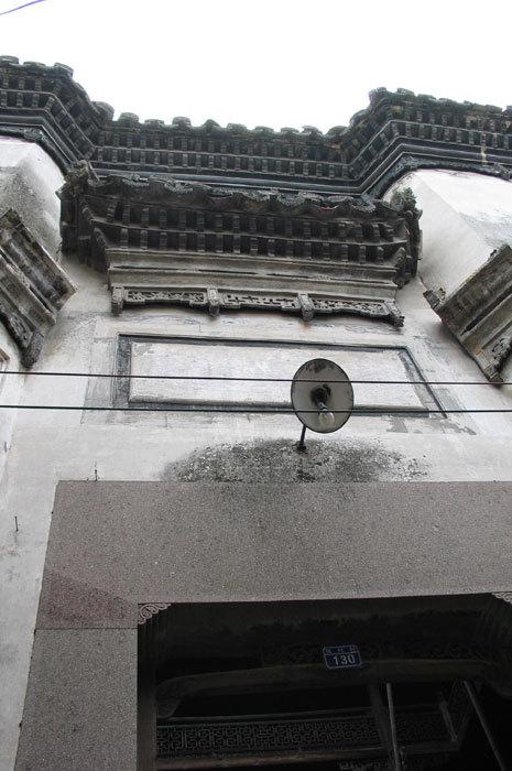 view through entryway showing interior gallery