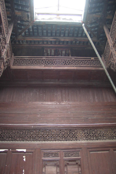 second room on 1st floor detail of upper story