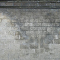 Detail of brickwork on wall